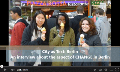 Video two-An interview about the aspect of Change in Berlin